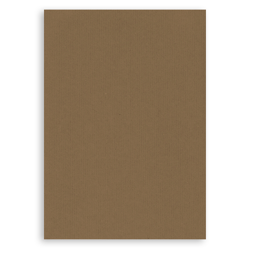 A3 RIBBED KRAFT CARD 300 GSM (PACK OF 10 SHEETS)