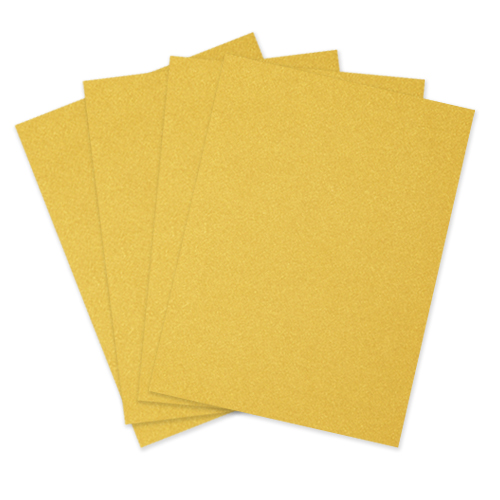 A4 CURIOUS METALLICS SUPER GOLD IRIDESCENT CARD 250gsm  (10 Sheets)