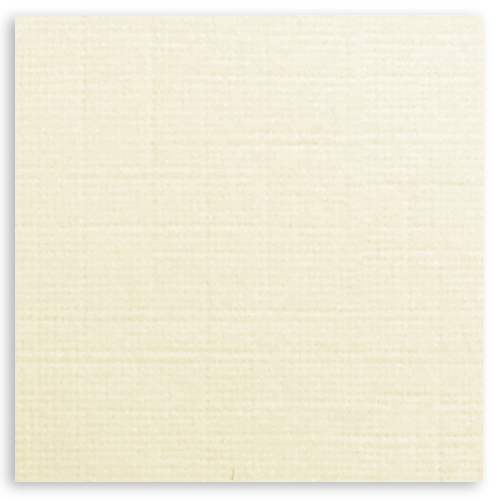 300mm SQUARE IVORY FINE LINEN EFFECT CARD (300gsm)