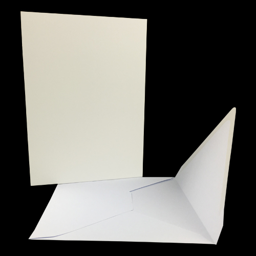 128 x 170mm CARD BLANKS & ENVELOPES (PACK OF 10)