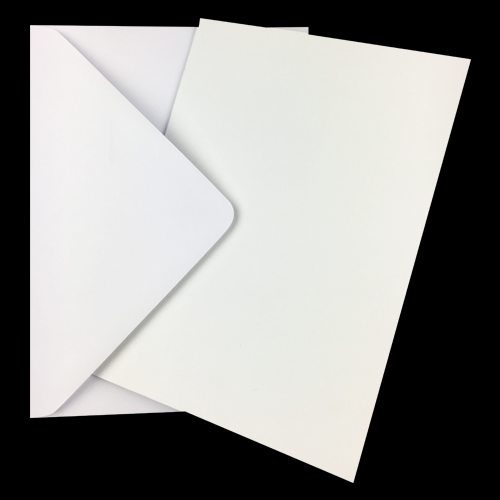 5 x 7 Card Blanks and Envelopes