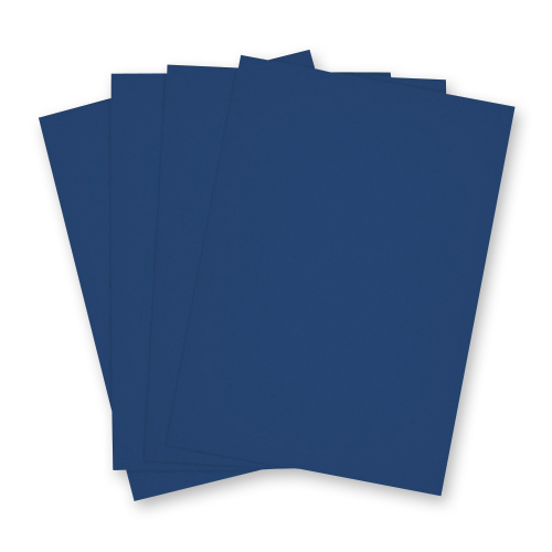 Navy Blue A4 Card