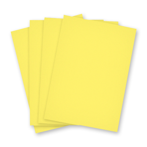A4 DAFFODIL YELLOW CARD 240GSM
