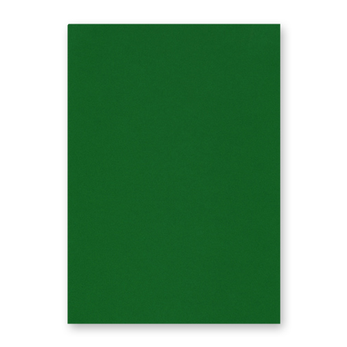 A4 Dark Green Card