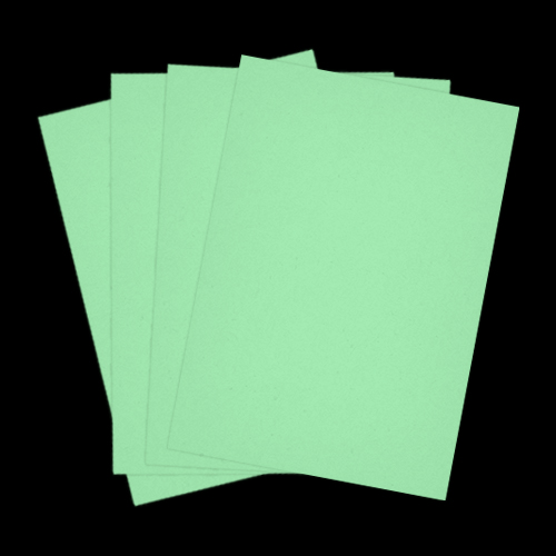 A4 JADE GREEN CARD 240GSM
