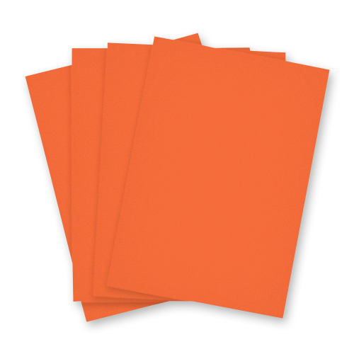 A3 ORANGE CARD (Pack of 10 Sheets)
