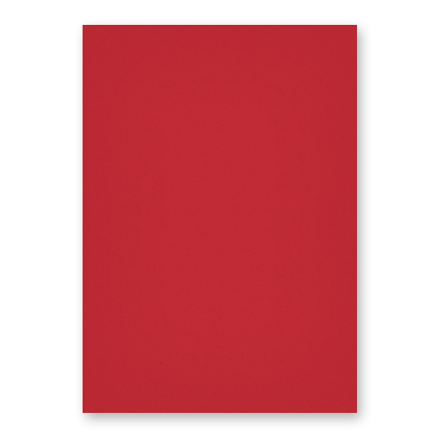 A3 RED CARD (Pack of 10 Sheets)