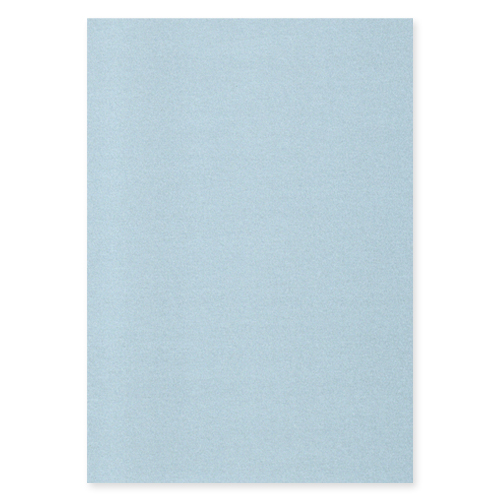 A4 PEARLESCENT BABY BLUE CARD