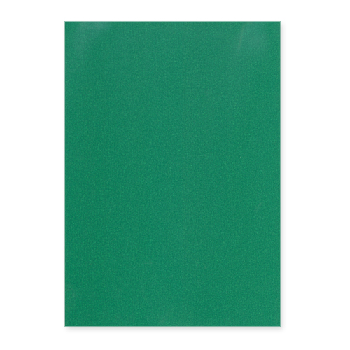 A4 PEARLESCENT CHRISTMAS GREEN CARD