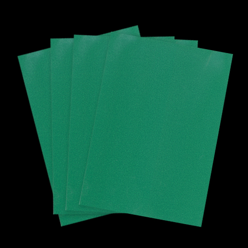 A4 PEARLESCENT CHRISTMAS GREEN PAPER (Pack of 10 Sheets)