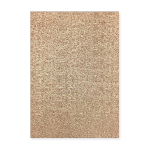 A4 Brushed Metallic Champagne Gold Card
