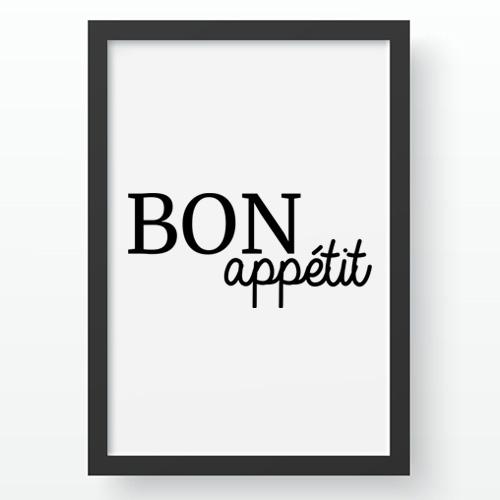 Bon Appetit Print