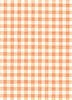 A4 GINGHAM CARD CITRUS ORANGE 280GSM (10 Sheets)