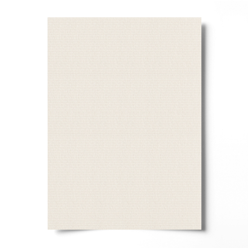 300mm SQUARE SEND ME LAID IVORY CARD (250gsm)