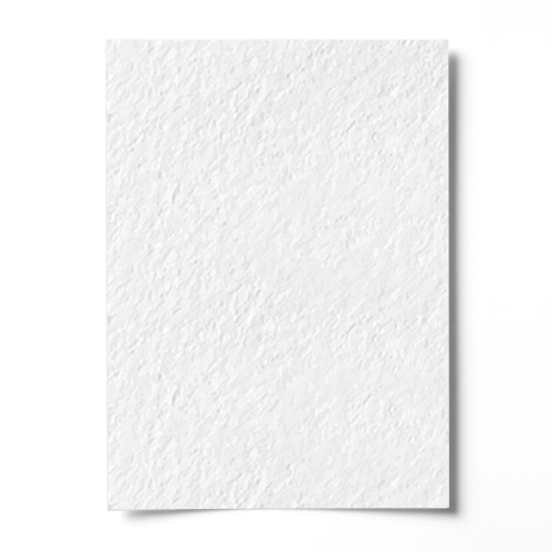 300mm SQUARE WHITE HAMMER EFFECT CARD (300gsm)