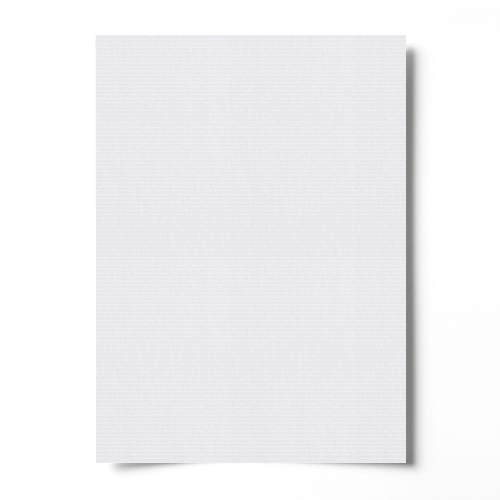 A4 SEND ME LAID WHITE CARD (300gsm)