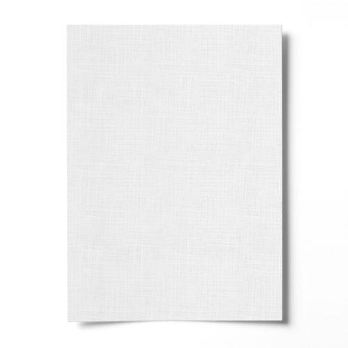 A5 DIAMOND WHITE FINE LINEN EFFECT CARD (350gsm)