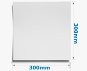 300mm Square Card