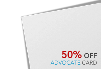 Advocate White Card